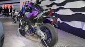 Yamaha Motobot Ver.2 concept rear three quarters at 2017 Tokyo Motor Show