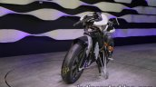 Yamaha Motoroid concept front three quarters right side at 2017 Tokyo Motor Show