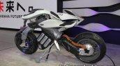 Yamaha Motoroid concept left side at 2017 Tokyo Motor Show