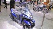 Yamaha Tricity 155 front three quarters at 2017 Tokyo Motor Show