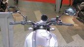 Yamaha XSR900 instrument cluster and handlebar at 2017 Tokyo Motor Show