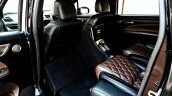 custom Maruti Ertiga rear cabin rose gold image