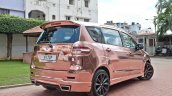 custom Maruti Ertiga rear quarter rose gold image