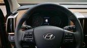 2017 Hyundai ix35 steering wheel spy shot