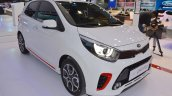 2017 Kia Picanto front three quarters at 2017 Dubai Motor Show