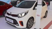 2017 Kia Picanto front three quarters left side at 2017 Dubai Motor Show