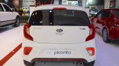 2017 Kia Picanto rear at 2017 Dubai Motor Show