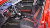 2017 Kia Rio Sedan front seats at 2017 Dubai Motor Show