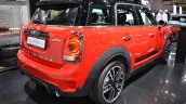 2017 MINI John Cooper Works Countryman rear three quarters at 2017 Dubai Motor Show