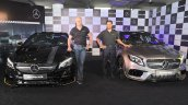 2017 Mercedes-AMG CLA 45 4MATIC and 2017 Mercedes-AMG GLA 45 4MATIC India launch event