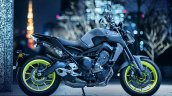 2017 Yamaha MT-09 press shot right side