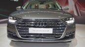 2018 Audi A8 L front at 2017 Dubai Motor Show