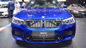 2018 BMW M5 front at 2017 Dubai Motor Show