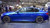 2018 BMW M5 profile at 2017 Dubai Motor Show