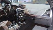2018 BMW X3 dashboard passenger side view at 2017 Dubai Motor Show
