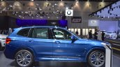 2018 BMW X3 right side at 2017 Dubai Motor Show