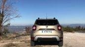 2018 Dacia Duster international media drive rear