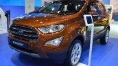 2018 Ford EcoSport front three quarters at 2017 Dubai Motor Show