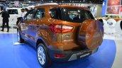 2018 Ford EcoSport rear three quarters at 2017 Dubai Motor Show