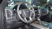 2018 Ford F-150 Limited dashboard at 2017 Dubai Motor Show