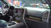 2018 Ford F-150 Limited dashboard passenger side view at 2017 Dubai Motor Show
