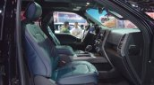 2018 Ford F-150 Limited front seats passenger side view at 2017 Dubai Motor Show
