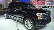 2018 Ford F-150 Limited front three quarters right side at 2017 Dubai Motor Show