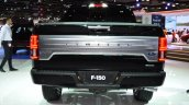 2018 Ford F-150 Limited rear at 2017 Dubai Motor Show