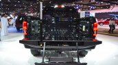 2018 Ford F-150 Limited rear tailgate step at 2017 Dubai Motor Show