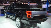 2018 Ford F-150 Limited rear three quarters left side at 2017 Dubai Motor Show