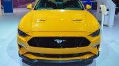 2018 Ford Mustang front at 2017 Dubai Motor Show