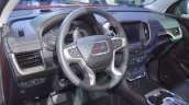2018 GMC Terrain Denali dashboard at 2017 Dubai Motor Show