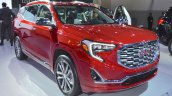 2018 GMC Terrain Denali front three quarters at 2017 Dubai Motor Show