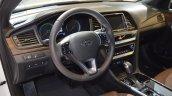 2018 Hyundai Sonata Hybrid (facelift) dashboard at 2017 Dubai Motor Show