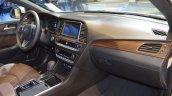 2018 Hyundai Sonata Hybrid (facelift) dashboard passenger side view at 2017 Dubai Motor Show