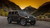 2018 Jeep Wrangler Unlimited Sahara front three quarters