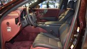 2018 Lexus LS front seats at 2017 Dubai Motor Show