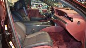 2018 Lexus LS front seats right side at 2017 Dubai Motor Show