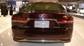 2018 Lexus LS rear at 2017 Dubai Motor Show