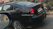 2018 Maruti Ciaz (facelift) rear three quarters spy shot