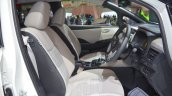 2018 Nissan Leaf front seats at the 2017 Dubai Motor Show