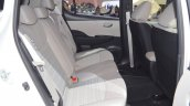 2018 Nissan Leaf rear seats at the 2017 Dubai Motor Show