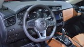 2018 Nissan X-Trail dashboard at 2017 Dubai Motor Show
