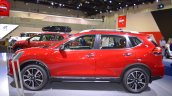 2018 Nissan X-Trail left side at 2017 Dubai Motor Show
