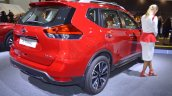 2018 Nissan X-Trail rear three quarters right side at 2017 Dubai Motor Show