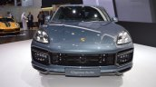 2018 Porsche Cayenne Turbo front at 2017 Dubai Motor Show