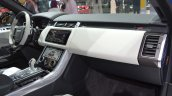 2018 Range Rover Sport SVR dashboard right side view at 2017 Dubai Motor Show