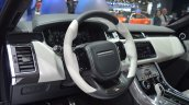 2018 Range Rover Sport SVR dashboard side view at 2017 Dubai Motor Show