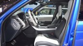 2018 Range Rover Sport SVR front seats at 2017 Dubai Motor Show