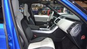 2018 Range Rover Sport SVR front seats side view at 2017 Dubai Motor Show